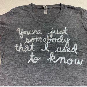 Fading Star Custom  Elliott Smith Lyrics Shirt